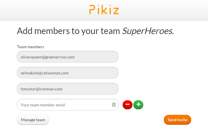 Team - Pikiz