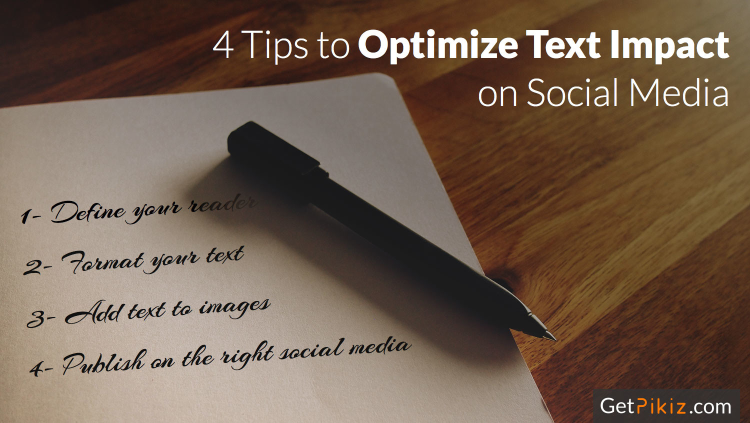 4 Tips to Optimize Text Impact on Social Media