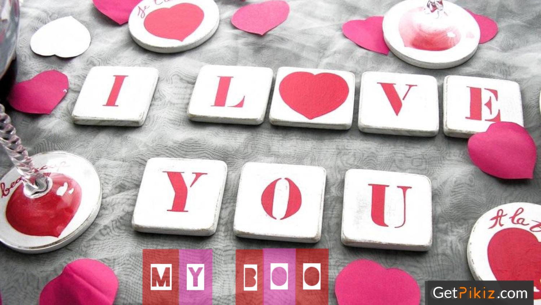 I Love You MY BOO.